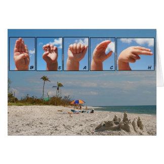 SLG Beach Card