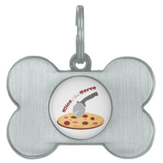 Slice And Serve Pet Tags