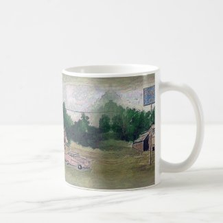 Slice of Americana on Classic Mug