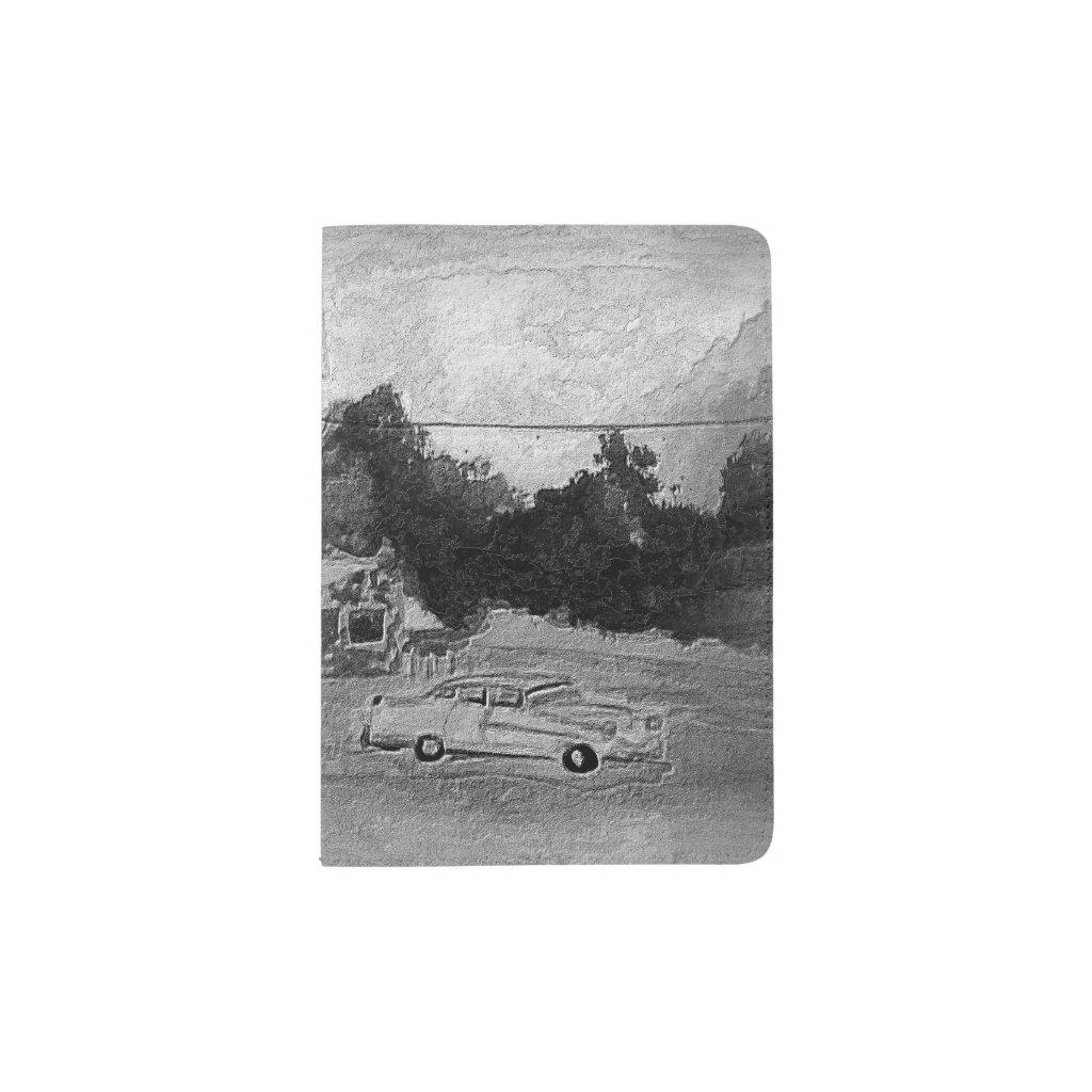 Slice of Americana Passport Passport Holder