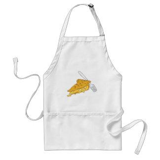 slice of apple pie adult apron