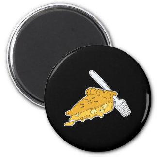 slice of apple pie refrigerator magnet