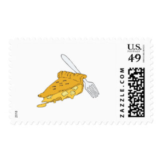 slice of apple pie stamps