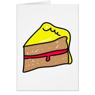 Slice of Cake Greeting Card