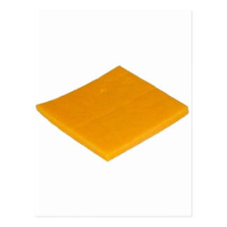 Slice of Cheese Postcard