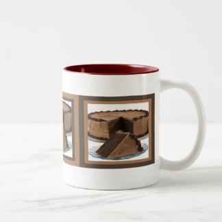Slice of  Chocolate Cake Mug