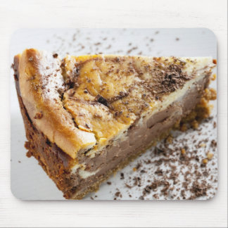 Slice of Chocolate Cheesecake Mouse Pad