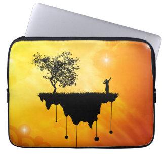 Slice of Earth Laptop Sleeve