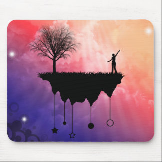 Slice of Earth Mouse Pad
