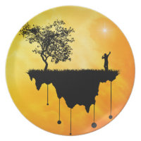 Slice of Earth Party Plates