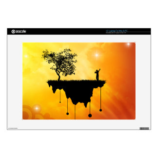 """Slice of Earth 15"""" Laptop Decals"""