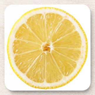 Slice Of Fresh Lemon Coaster