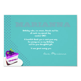 Slice of Happiness Thank You Notes Card