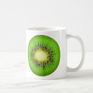 Slice of kiwi coffee mug