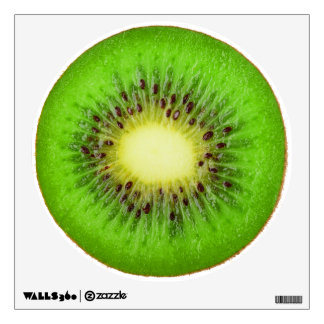 Slice of kiwi wall decal
