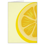 Slice of Lemon Card