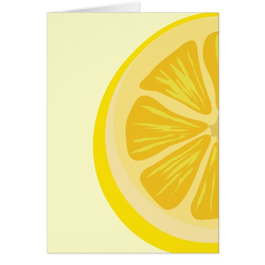 Slice of Lemon Card