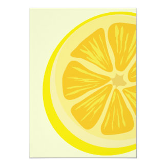 Slice of Lemon Invitation