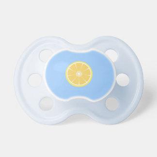 slice of lemon pacifier