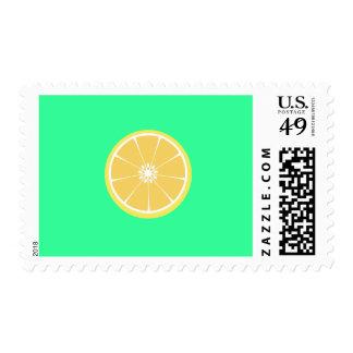slice of lemon postage