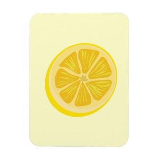 Slice of Lemon Rectangular Photo Magnet