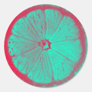 Slice Of Lemon Stickers