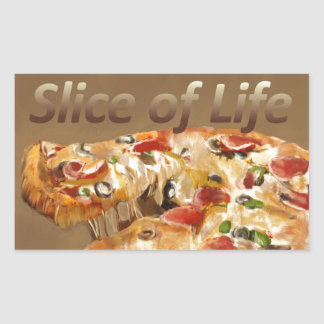 Slice of Life Rectangular Sticker