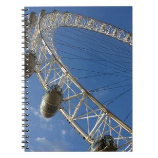 Slice of London Eye Note Book