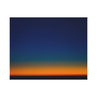 Slice of Moon in the Triund Sky Canvas Print