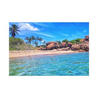 Slice Of Paradise Canvas Print