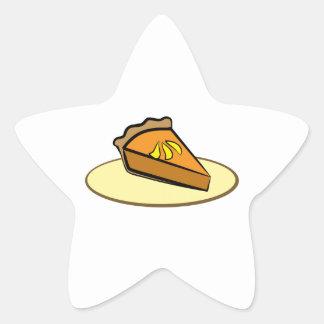 Slice of Pie Star Stickers