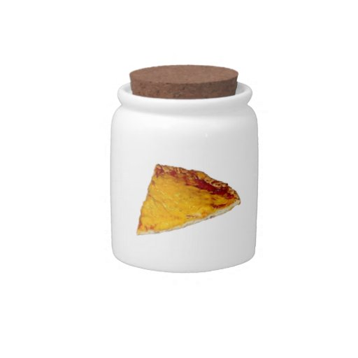 Slice of Pizza Candy Jar