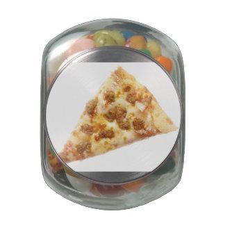 Slice of Pizza Glass Jars