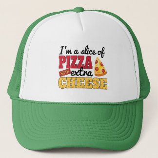 Slice of Pizza w/ Extra Cheese Trucker Hat