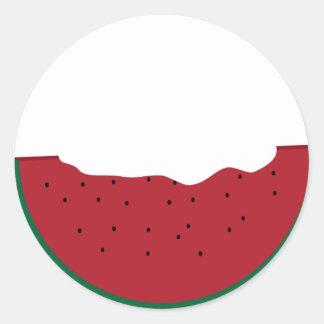 Slice of watermelon customizable sticker