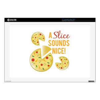 Slice Sounds Nice Laptop Skins