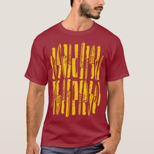 Sliced and Diced - Amber on Dark T-Shirt