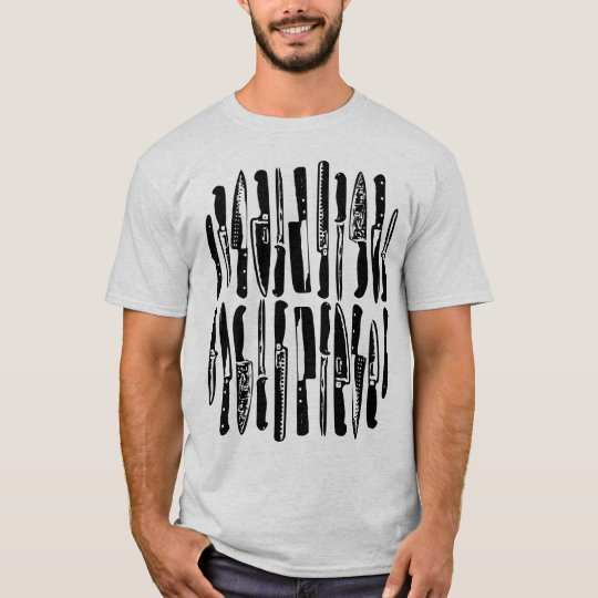 Sliced and Diced - Black T-Shirt