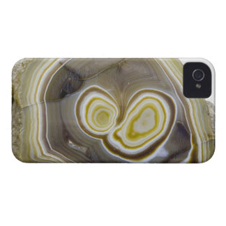Sliced and Polished Agate Geode iPhone 4 Cover