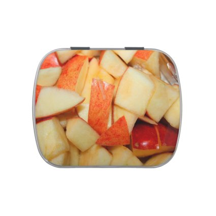 sliced apples image red apple food design jelly belly tins