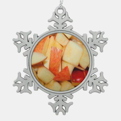 sliced apples image red apple food design ornaments