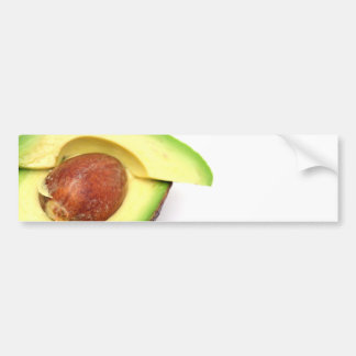 Sliced Avocado Bumper Sticker
