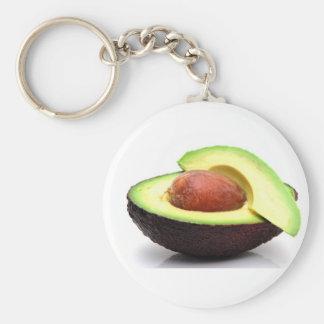 Sliced Avocado Keychain