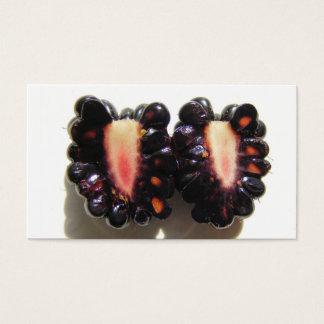 Sliced Blackberry ~ biz card