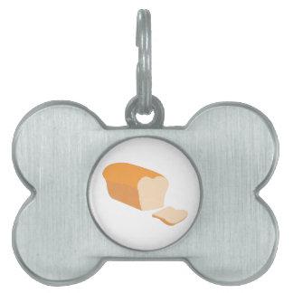Sliced Bread Pet ID Tag
