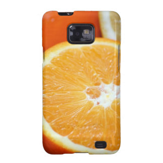 SLICED CITRUS FRUITS ORANGES COLORFUL HEALTHY FOOD GALAXY S2 COVER