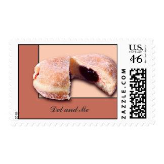 Sliced Donut Stamp