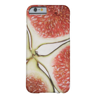 Sliced figs, close-up barely there iPhone 6 case