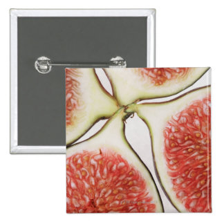 Sliced figs, close-up button