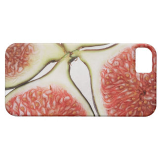 Sliced figs, close-up iPhone SE/5/5s case